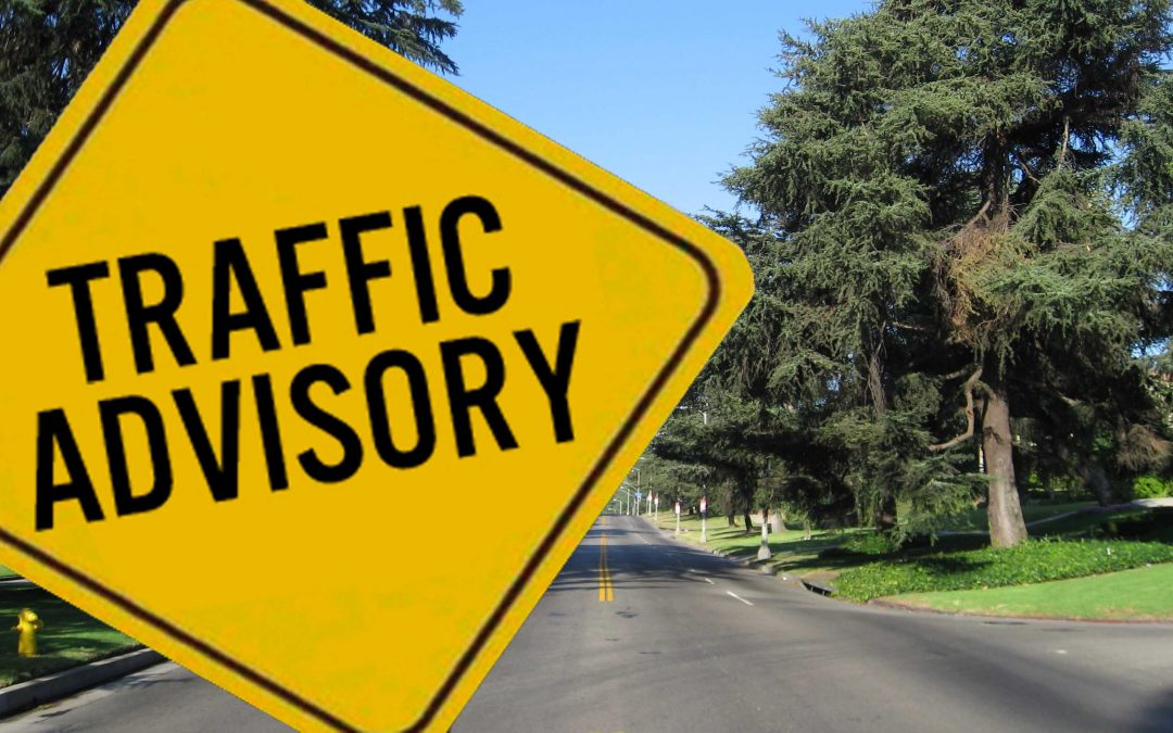 Holiday Traffic Around Griffith Park