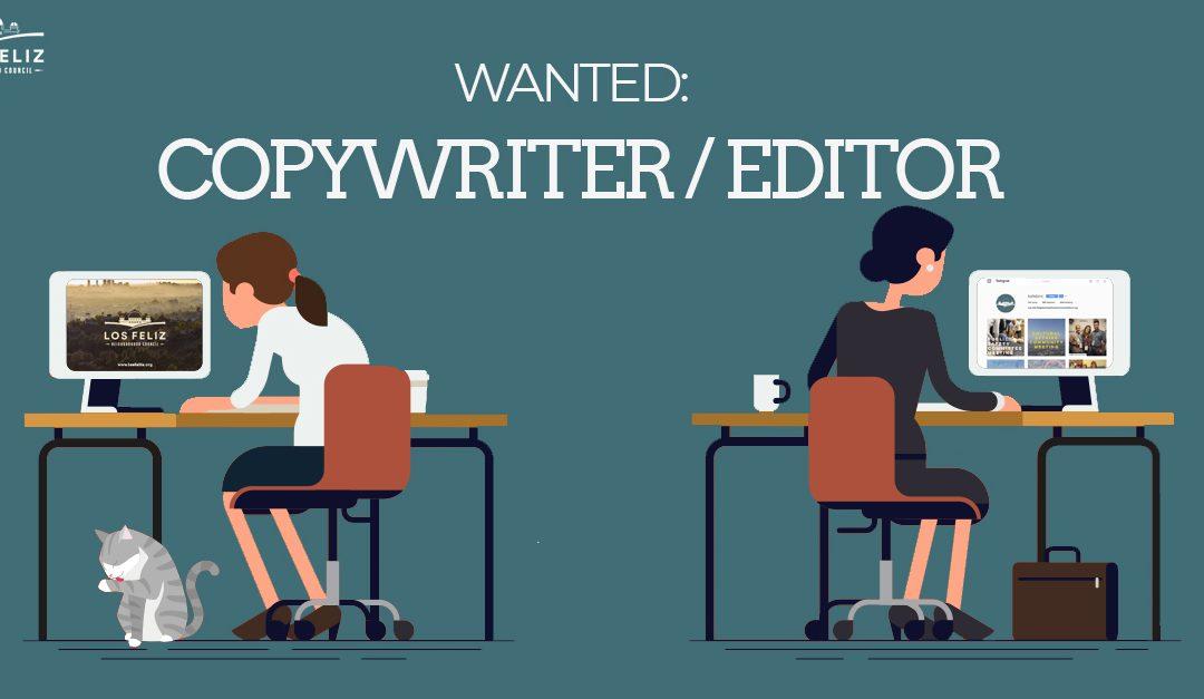 Los Feliz Based Copywriter / Editor